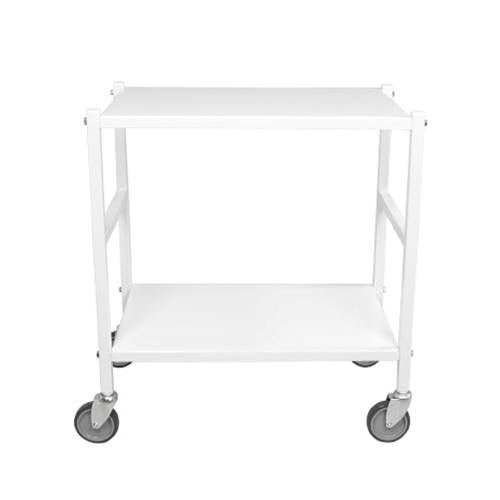 Domo Design Domo Rullapöytä, Valkoinen