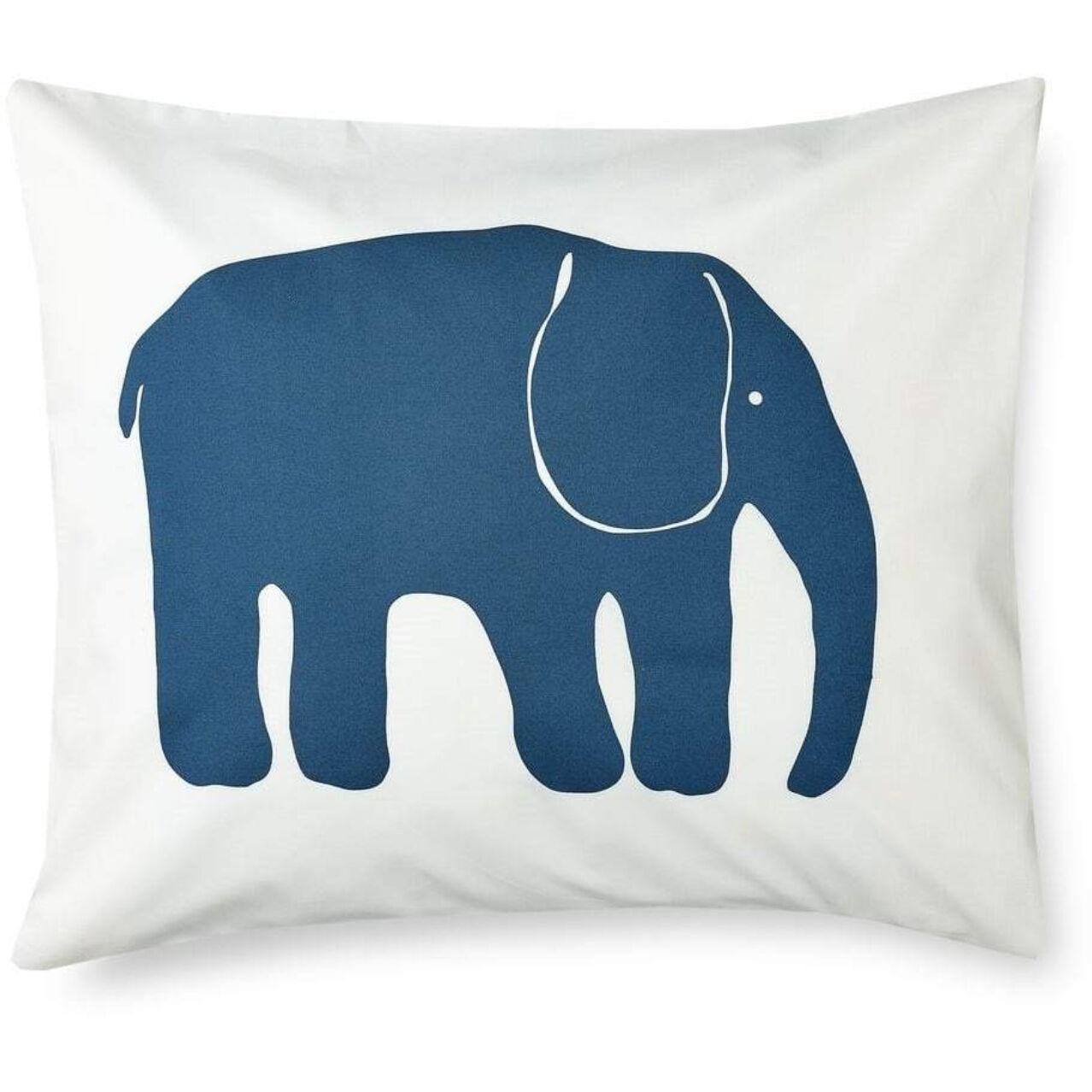 Finlayson Elefantti Pillowcase 50x60 cm, Petrol