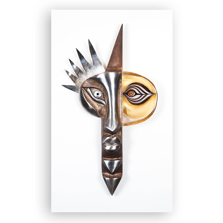 Målerås Glasbruk Iron & Crystal Inka Ltd Ed 54x89cm