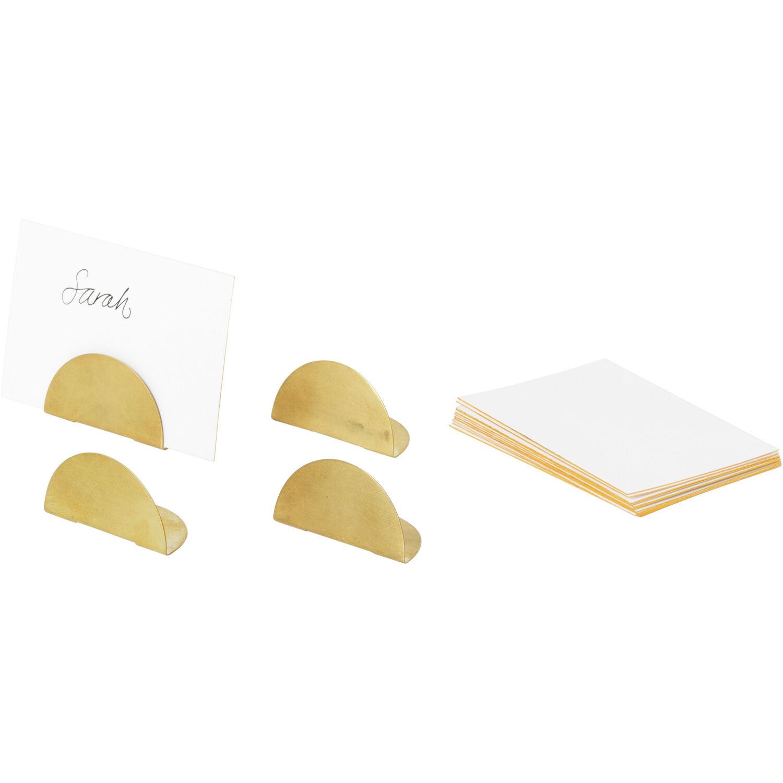 Ferm Living Card Holder 4-Pack, Brass