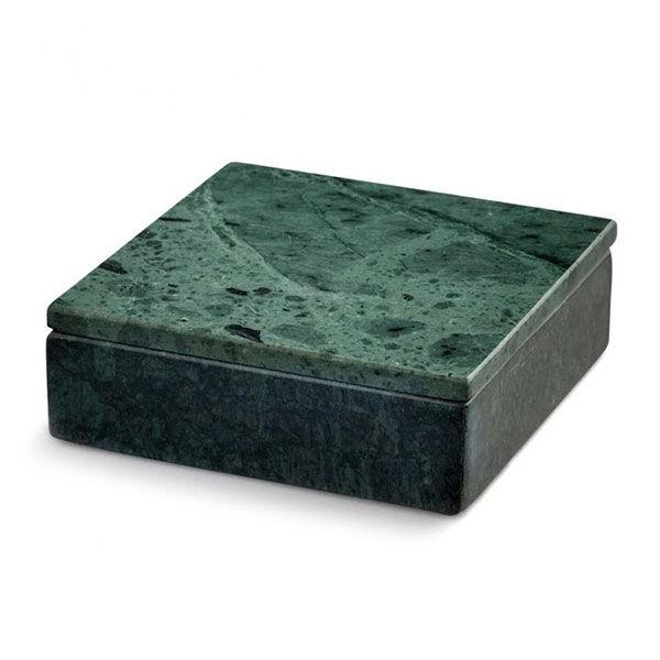 Nordstjerne Green Marble Säilytyslaatikko, Small, Vihreä