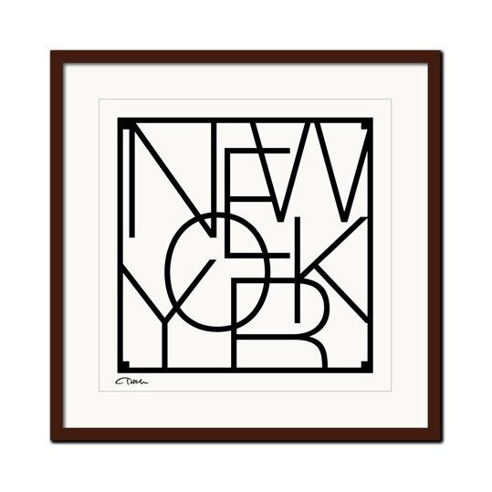 Men at Work City Graphics New York