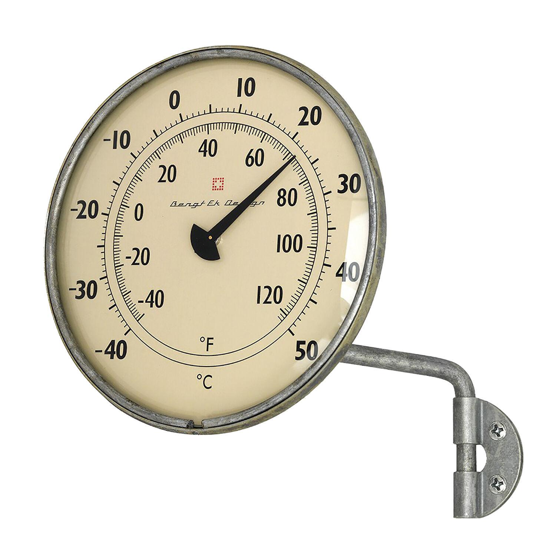 Bengt Ek Design Ikkunalämpömittari, -40 - +50 C° Sinkki