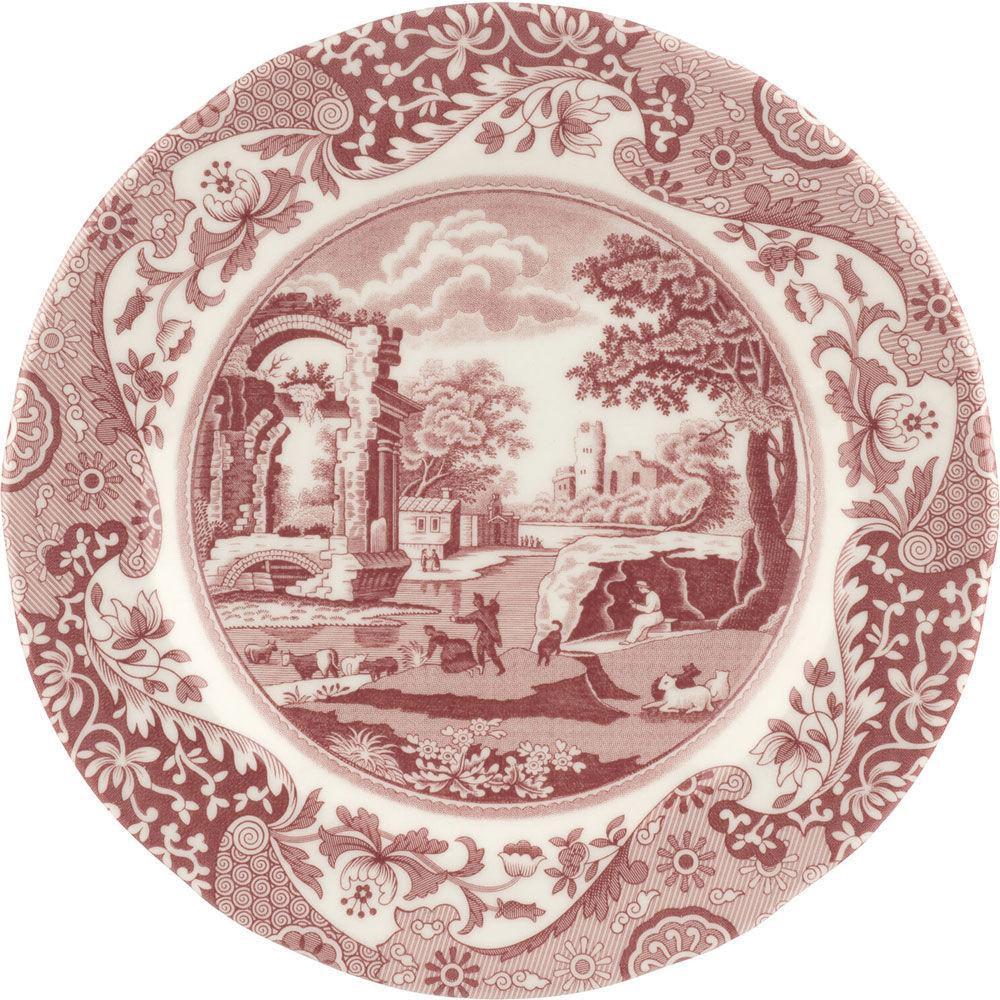 Spode Cranberry Italian Side Plate, 20 cm