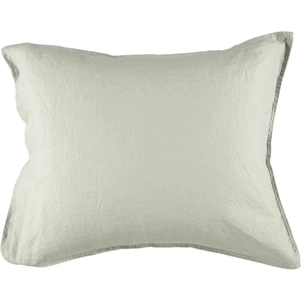 Gripsholm Washed Linen Pillowcase 50x60 cm, Nature