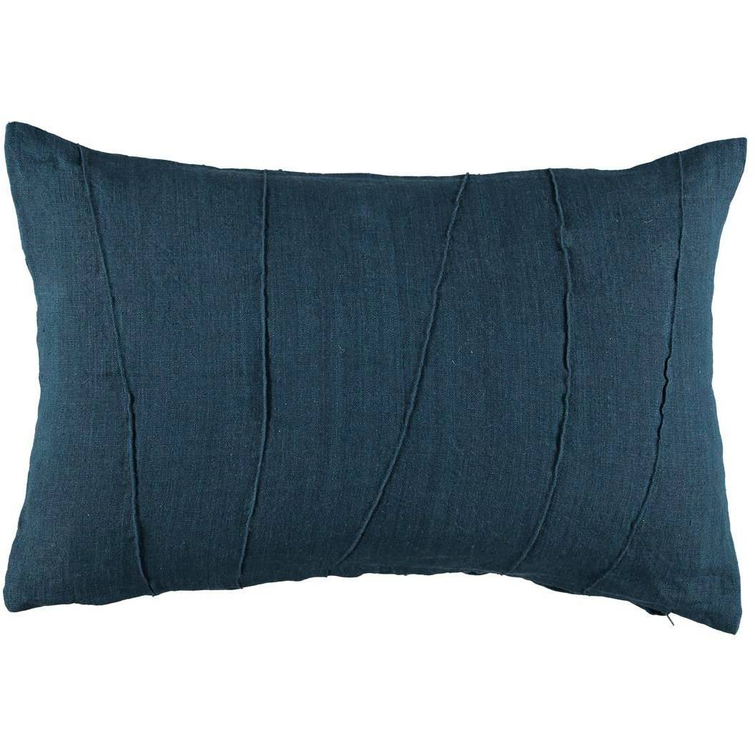 Gripsholm Josef Cushion Cover 40x60 cm, Ultramarine