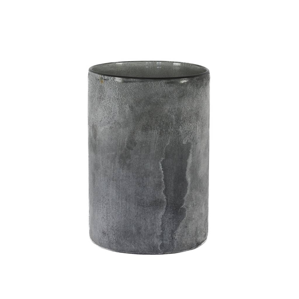 Tell Me More Frost Candleholder L, Grey