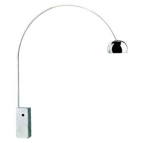 Flos Arco Lattiavalaisin LED, Marmori