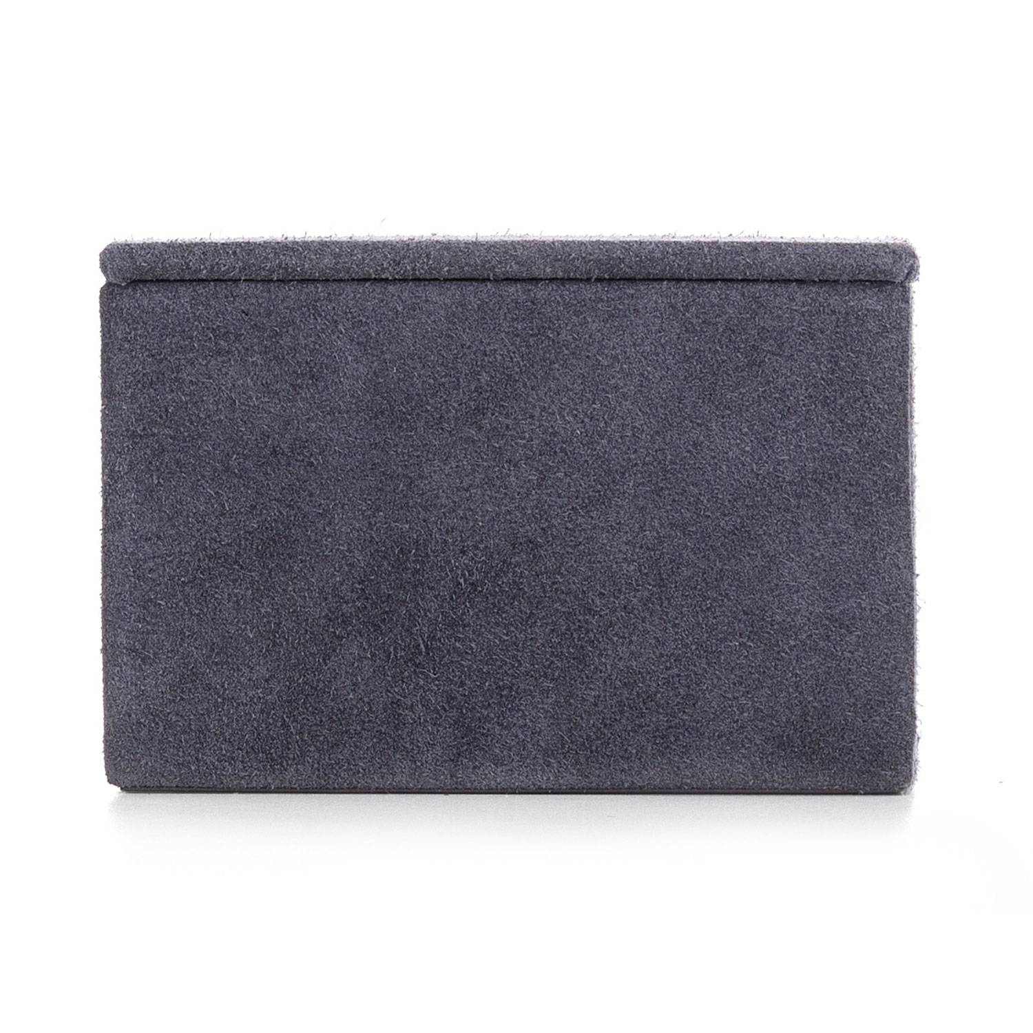 Nordstjerne Suede Box Small, Stone Grey
