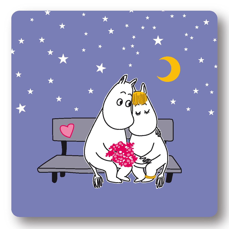 Opto Design Moomin Evening Love Alunen, Violetti