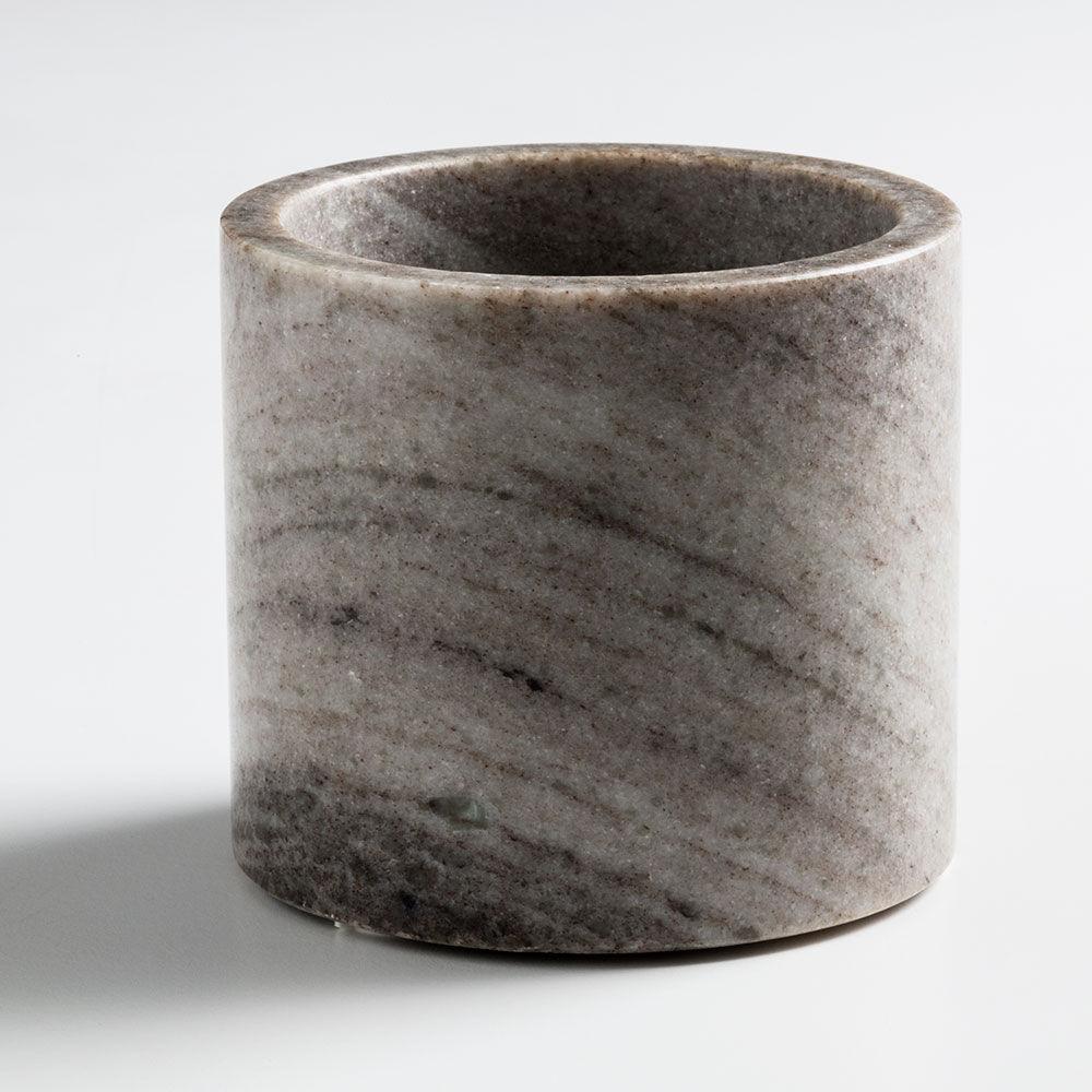 Nordstjerne Brown Marble Kynttilänjalka, Large, Ruskea