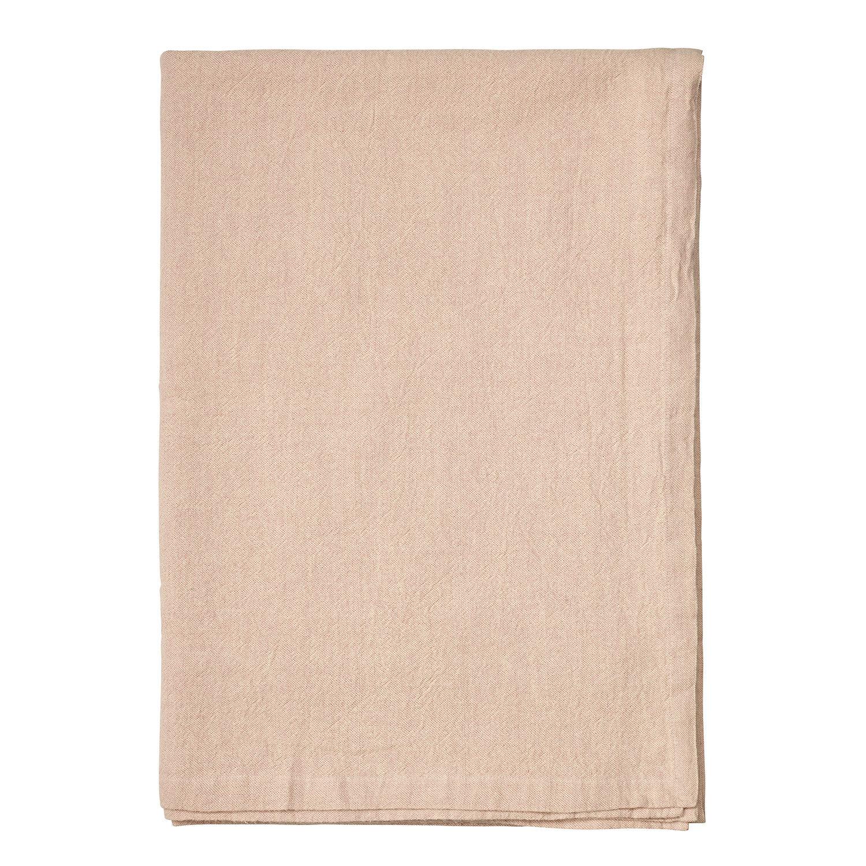 Linum Hedvig Pöytäliina 170x170cm, Dusty Pink