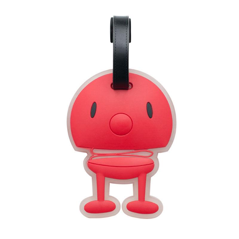 Hoptimist Hoptimist Bag Tag, Punainen