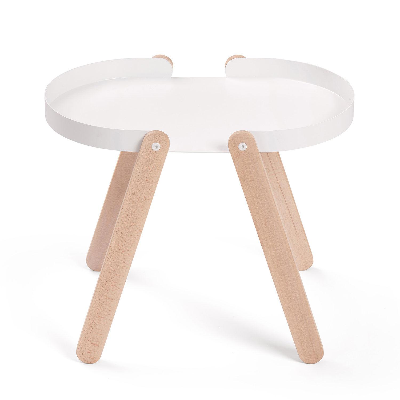 Puik Tepsi Sivupöytä, Valkoinen