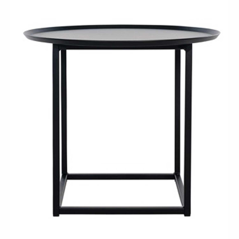 Domo Design Domo Round Square Pöytä S, Musta
