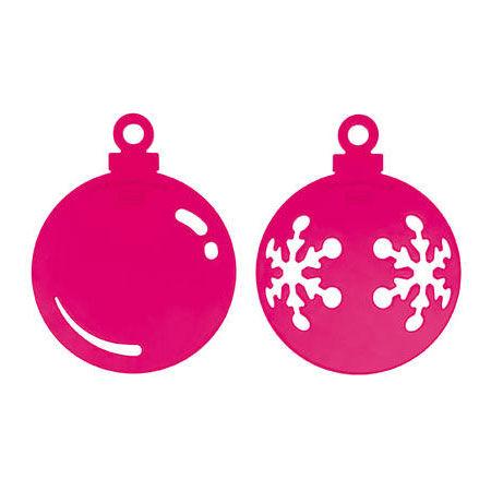 Koziol Snow & Shine Joulukoriste, Vaaleanpunainen