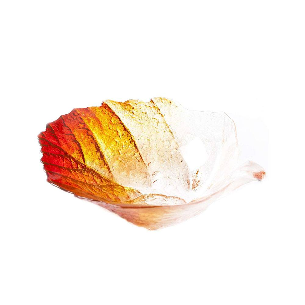 Målerås Glasbruk Folia Syksy Kulho, 18 cm