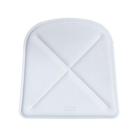 Tolix Flex Istuintyyny A, Valkoinen