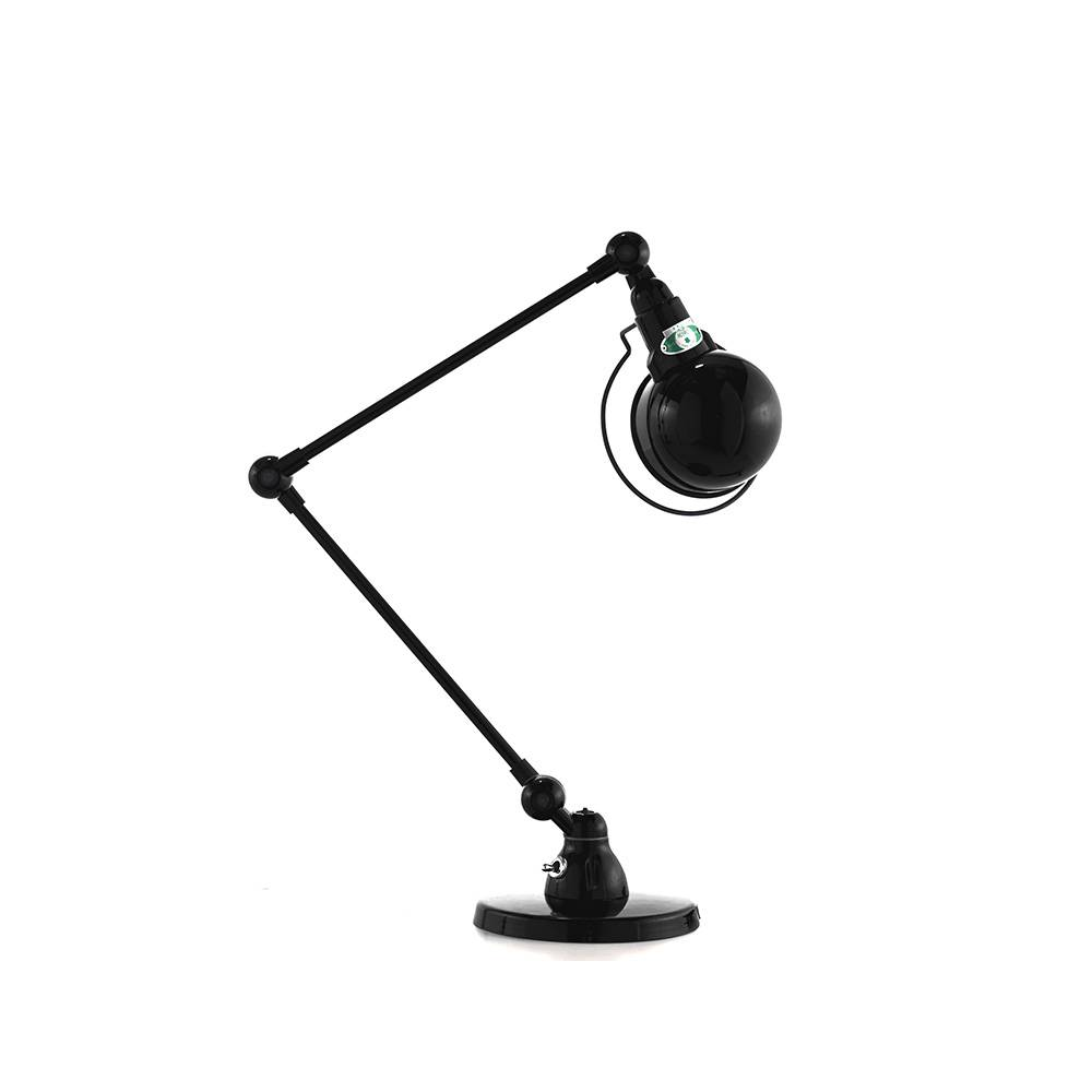 Jieldé Signal SI333 Pöytävalaisin 60 cm, Musta Matta