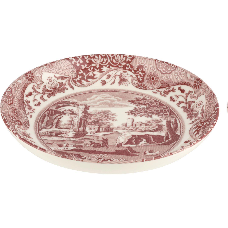 Spode Cranberry Italian Pasta Bowl, 23 cm