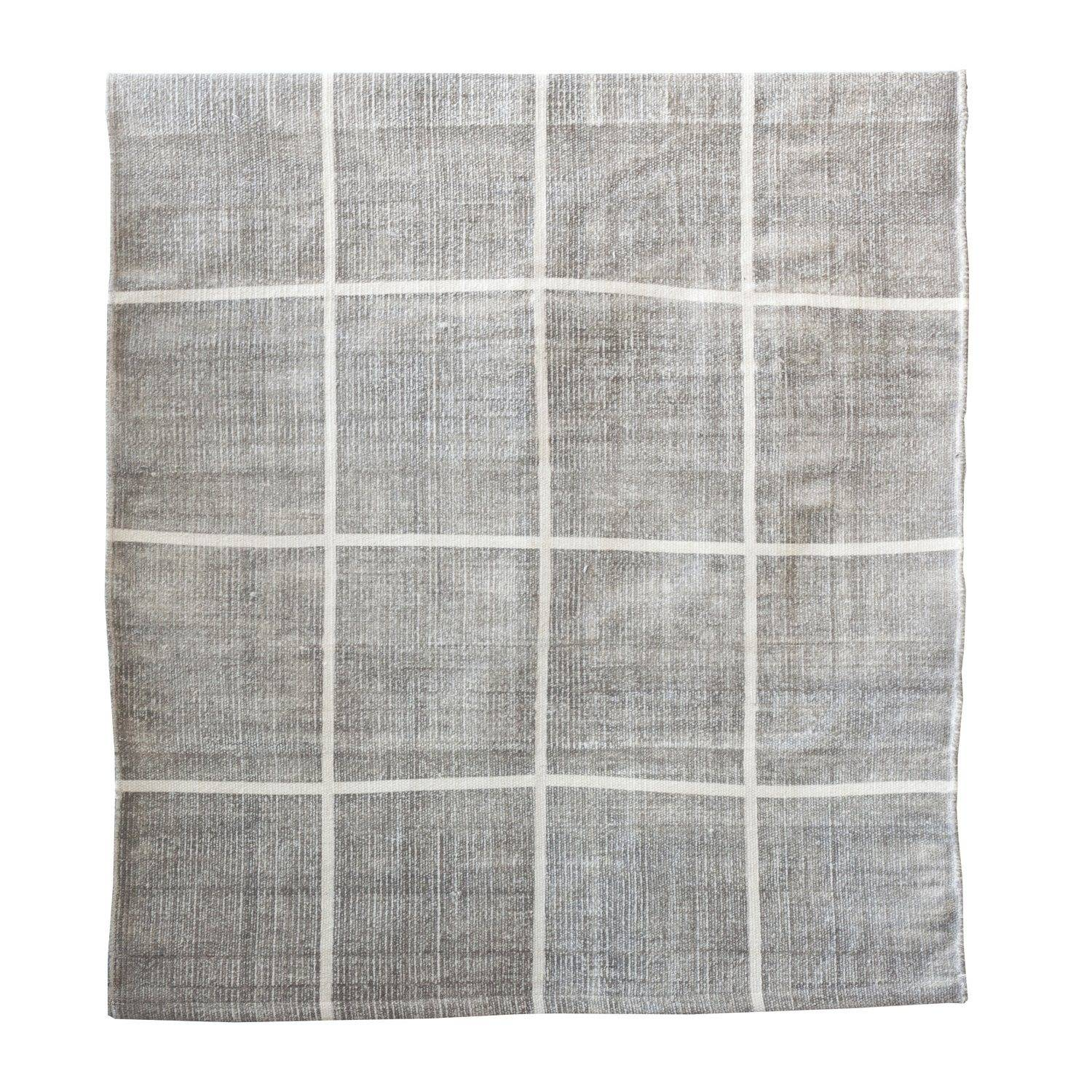 Tell Me More Square Rug 170x240 cm, Grey