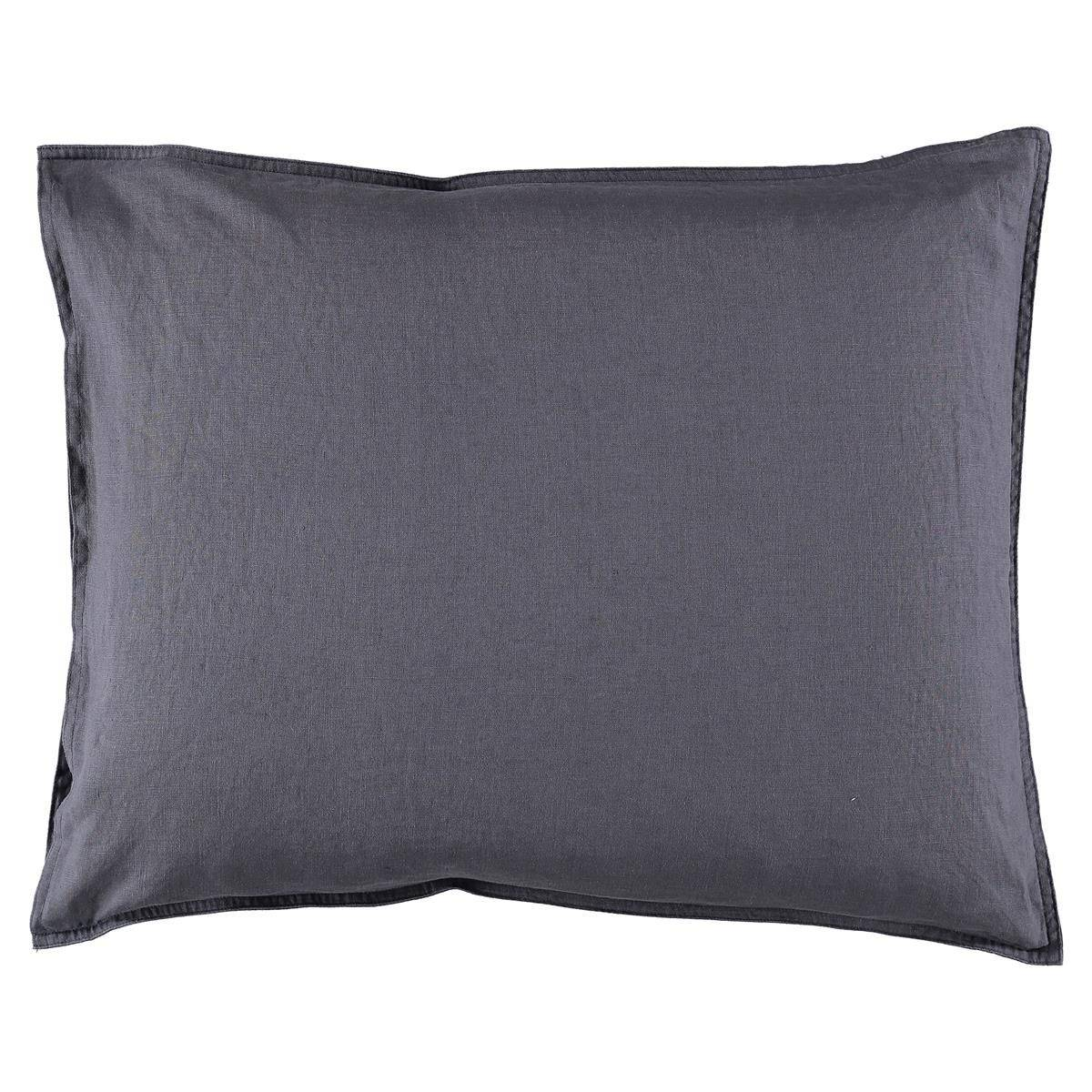 Gripsholm Washed Linen Pillowcase 50x60 cm, Ombre Blue