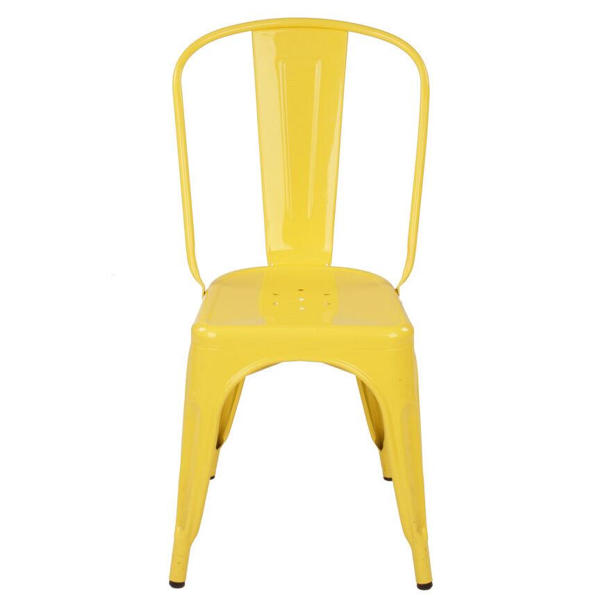 Tolix Tuoli A Keltainen/Kiiltävä