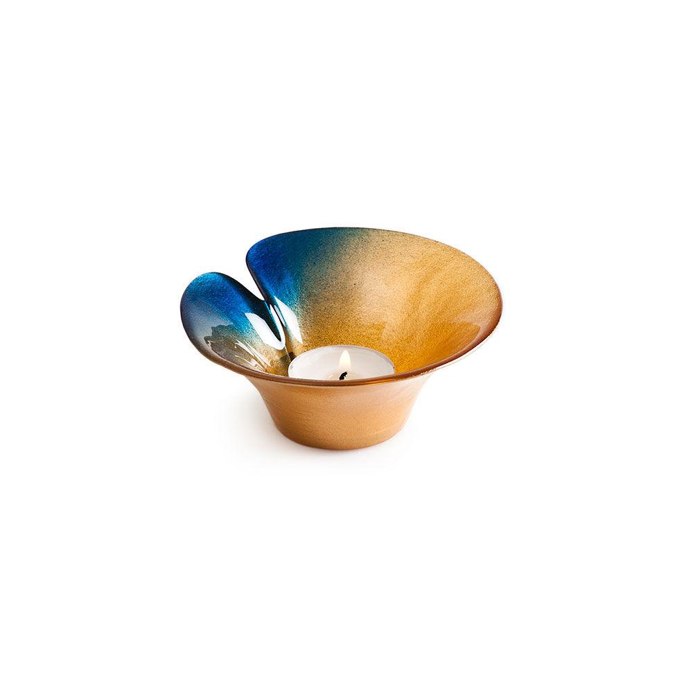 Målerås Glasbruk Magic Gold Tuikkualusta