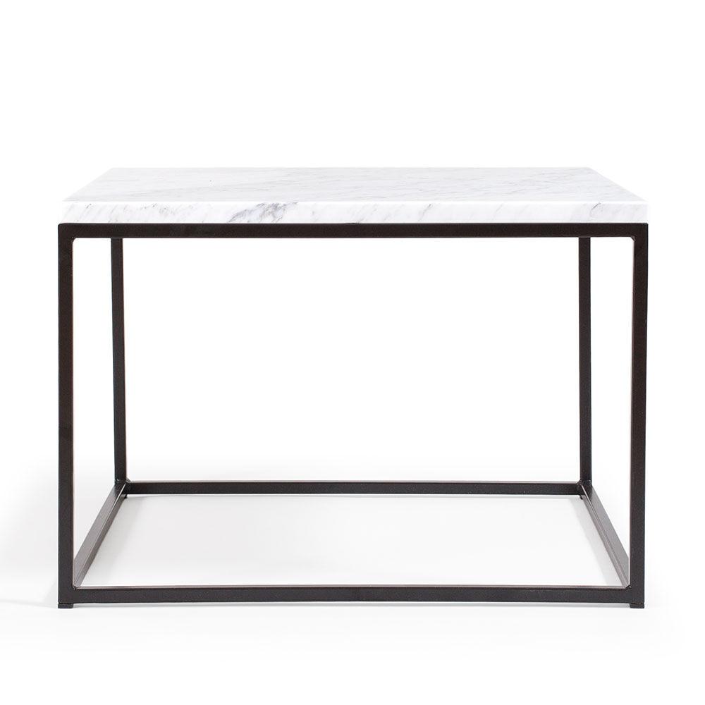 Decotique Marvelous Marmoripöytä, 60x60, Carrara/Musta