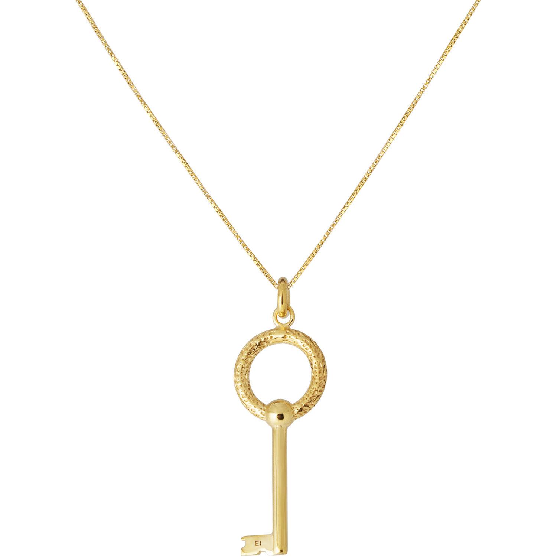 Emma Israelsson Key Necklace L 76 cm, Gold