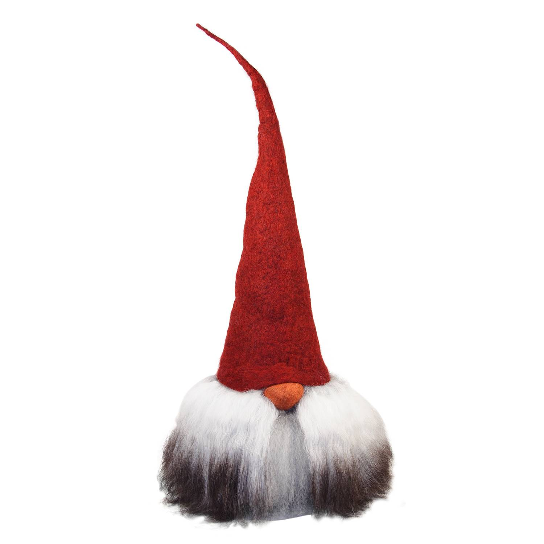 Åsas Tomtebod Olle Gnome 80 cm, Red