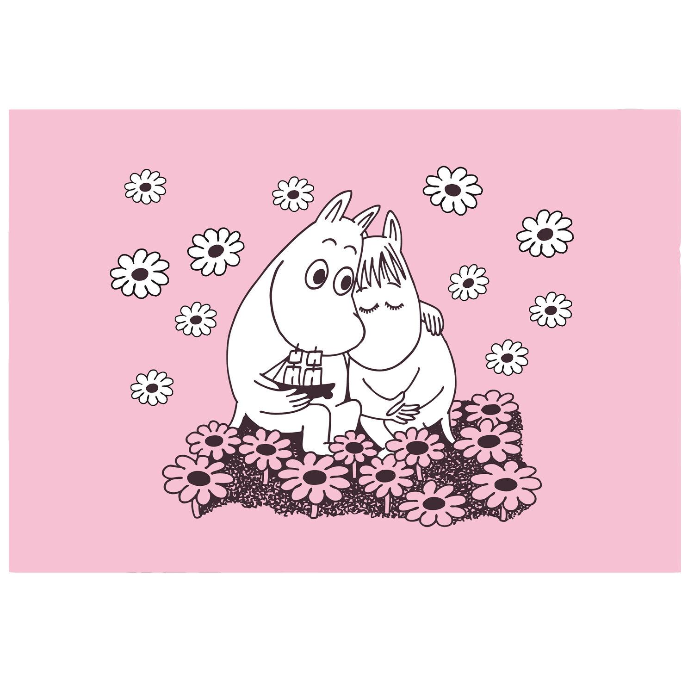 Opto Design Moomin Table Mat 40x30 cm, Love