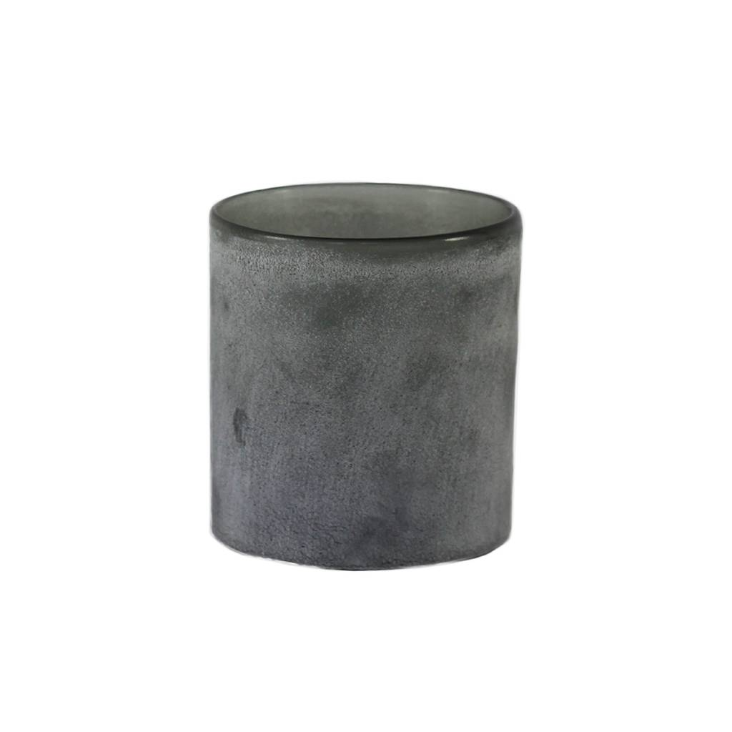 Tell Me More Frost Candleholder M, Grey