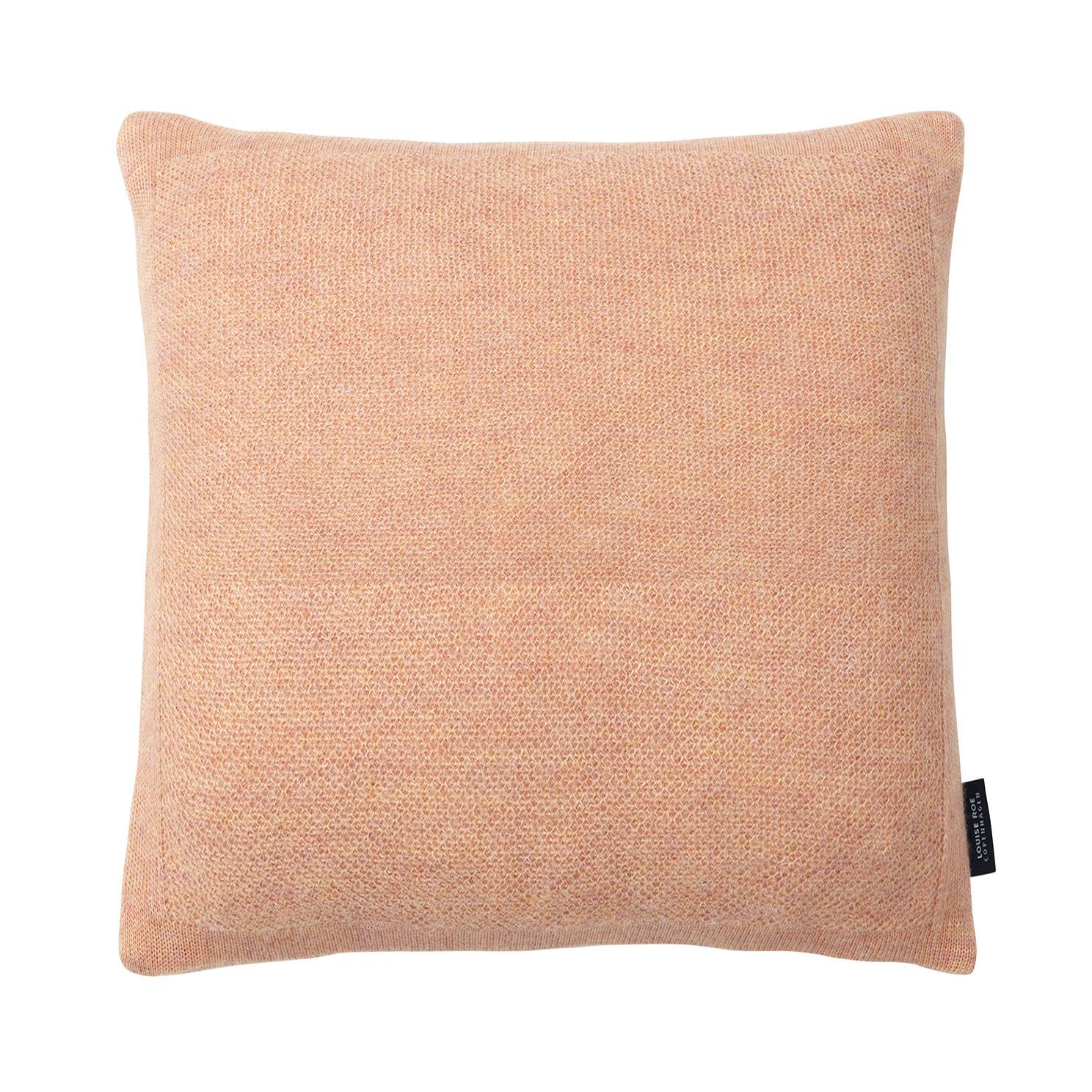 Louise Roe Tyyny Pique 50x50cm, Pearl Peach
