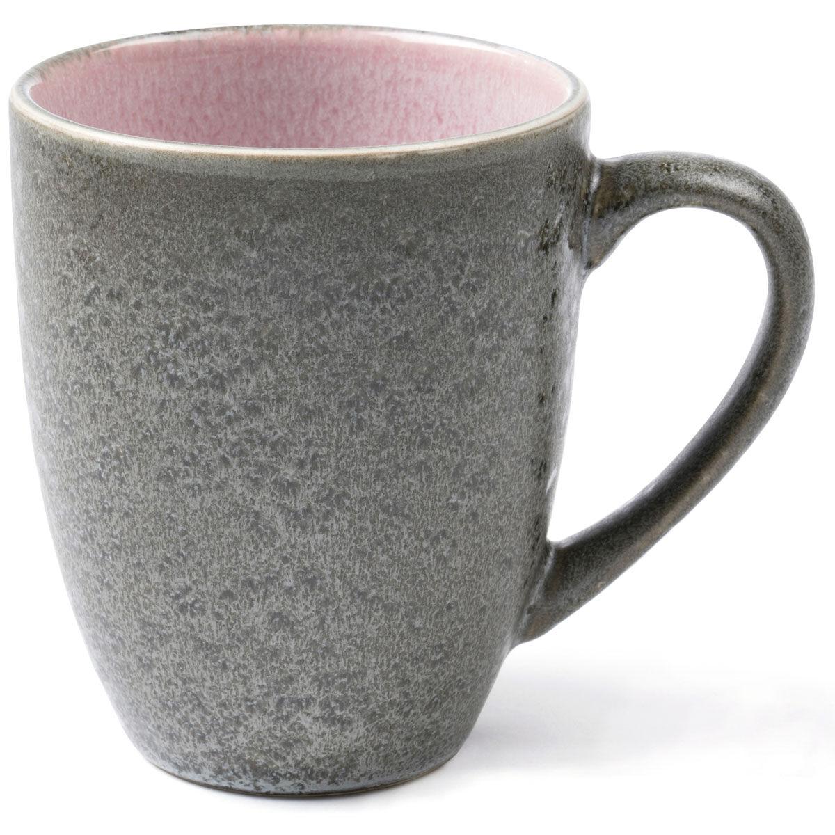 Bitz Bitz Mug 30 cl, Grey/Pink
