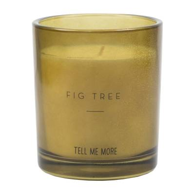 Tell Me More Noir Scented Candle, Fig Tree