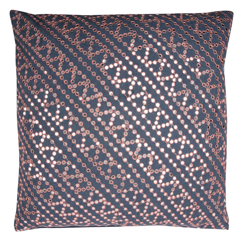 Day Home Tiny Mirror Cushion Cover, Night Sky