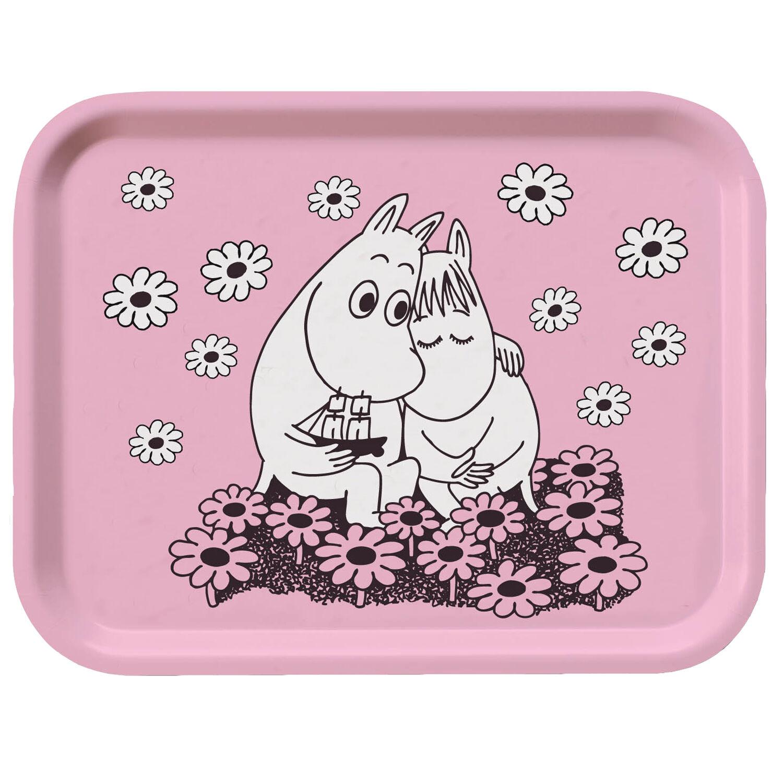 Opto Design Moomin Tray 20x27 cm, Love