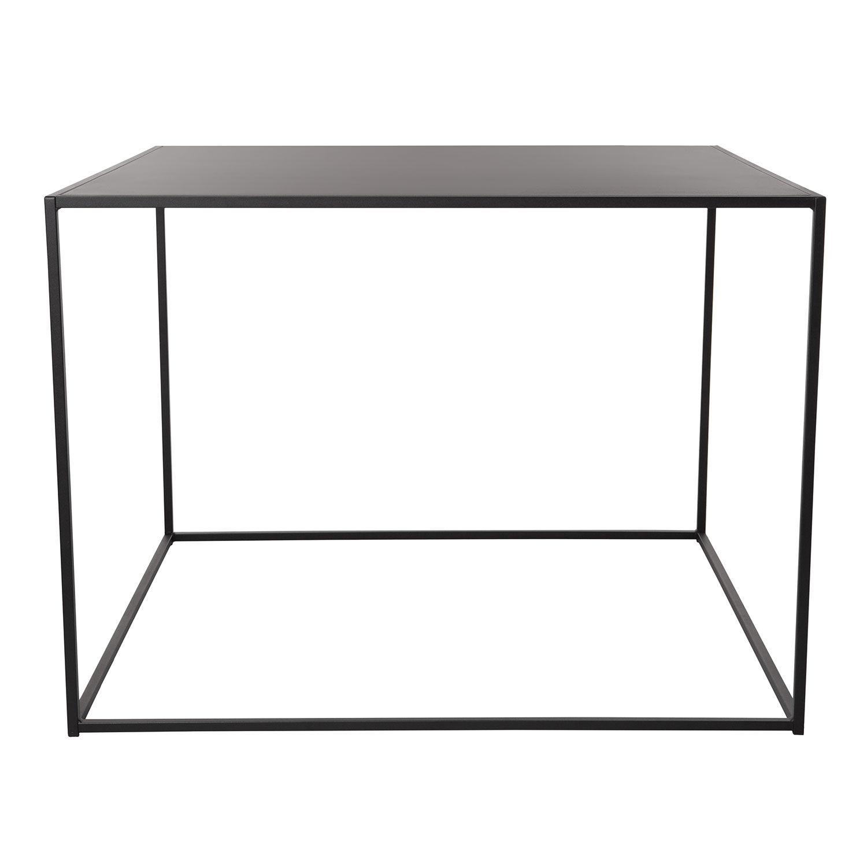 Domo Design Domo High Square Ruokapöytä 100x100x73cm, Musta