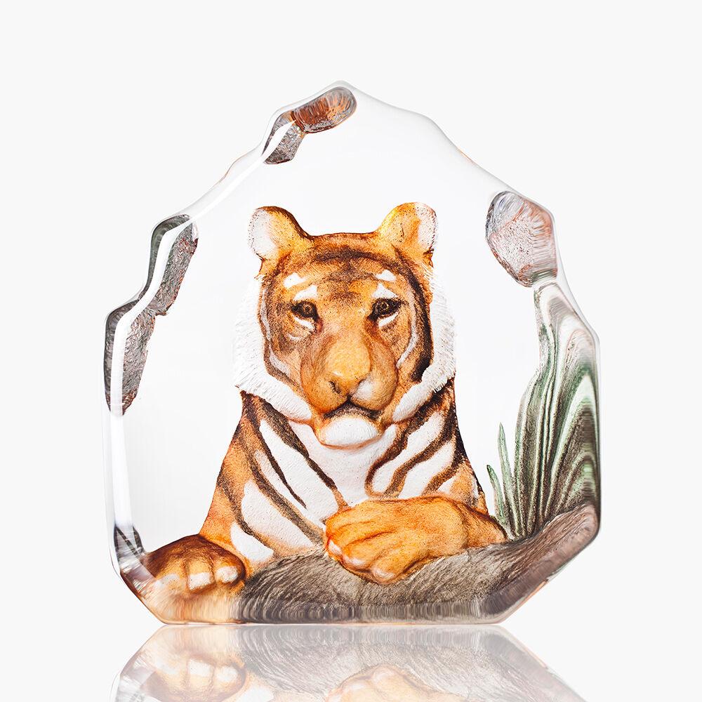 Målerås Glasbruk Wildlife Tiikeri