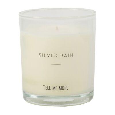 Tell Me More Clean Tuoksukynttilä, Silver Rain