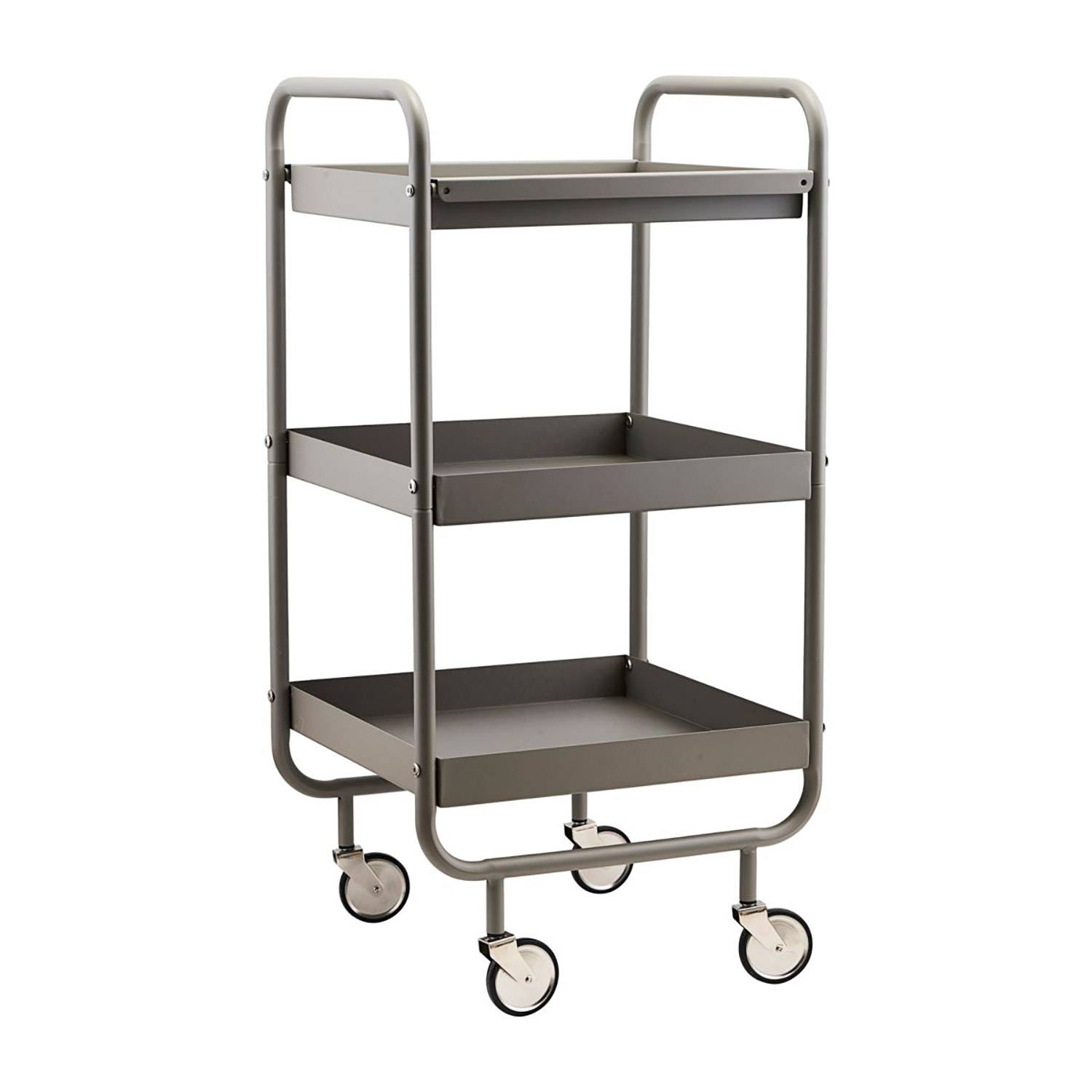 House Doctor Roll Wagon With Removable Tray, Grey