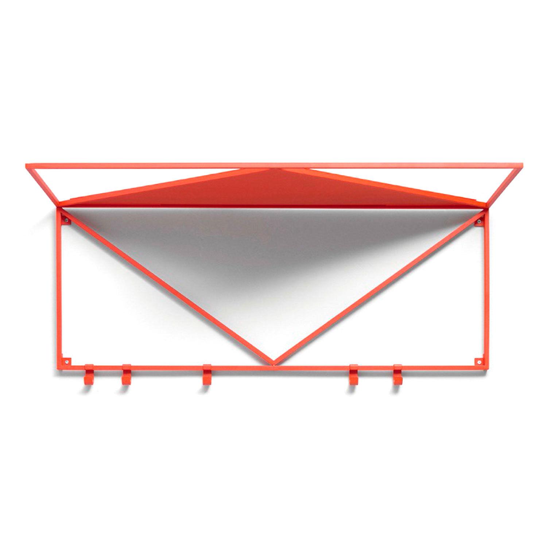 Essem Design Minimalisten Hattuhylly 80cm, Punainen