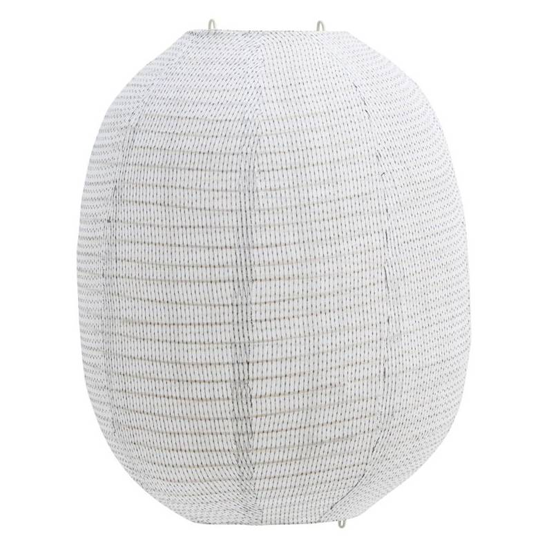 House Doctor Stitch Lampshade 40x50 cm, Off-White