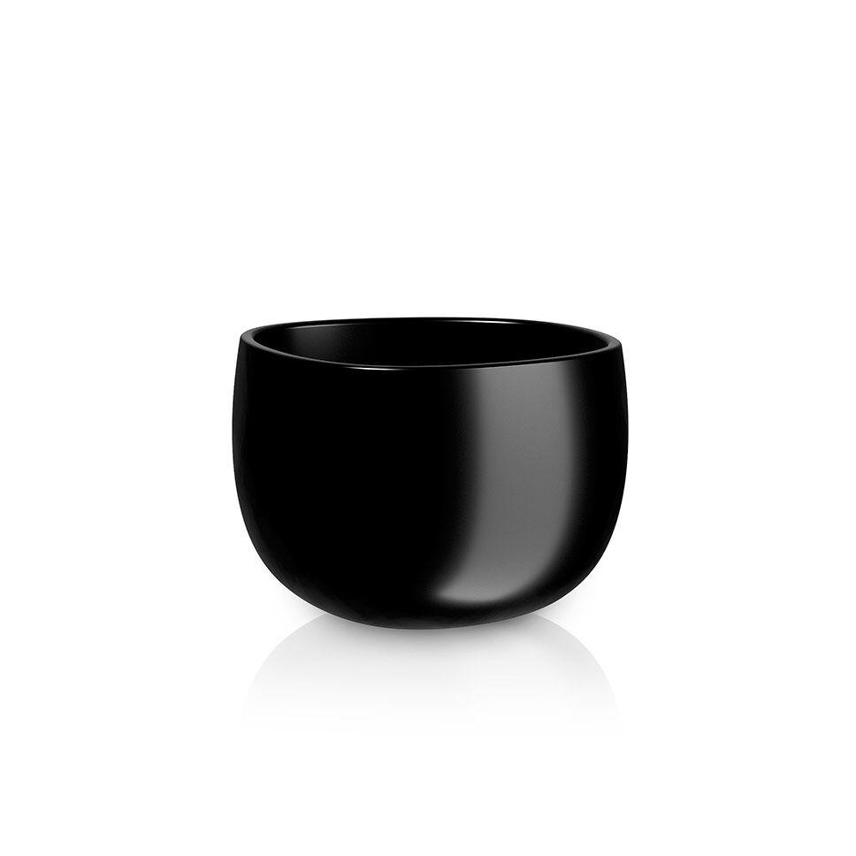 Italesse Pebble Kulho Musta, Pieni 4-pakkaus