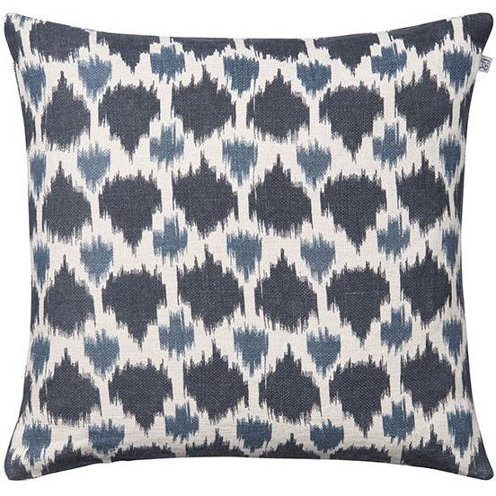Chhatwal & Jonsson Assam Cushion Cover 50x50 cm, Blue/Palace Blue