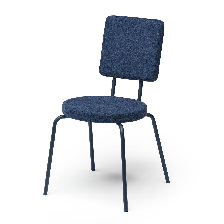 Puik Option Tuoli Round/Square, Tummansininen