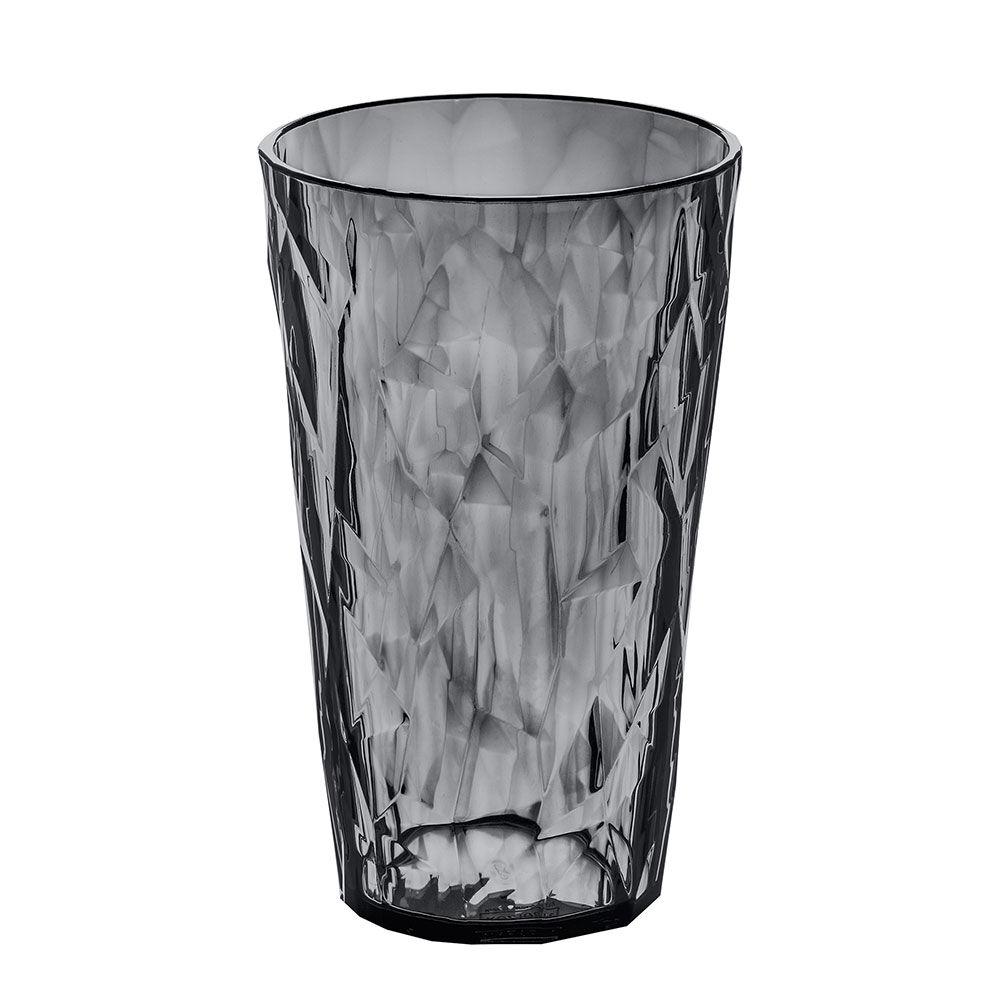 Koziol Crystal 2.0 L Lasi 45 cl, Harmaa