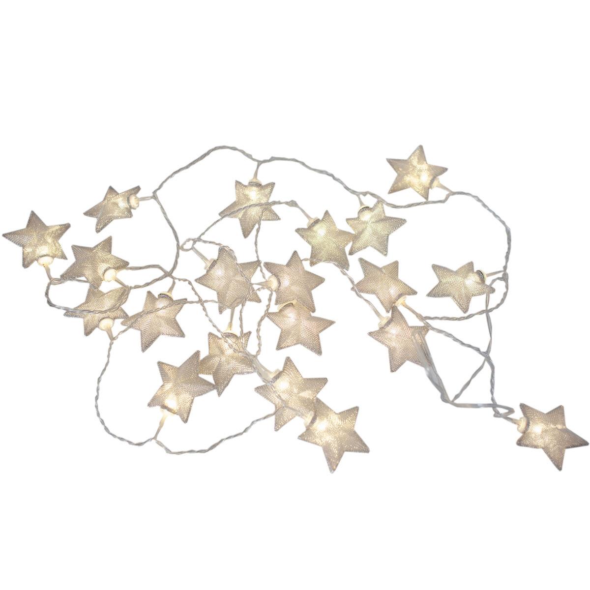 Rydéns By Rydéns Saint Star LED Valosarja,Hopea, 2m