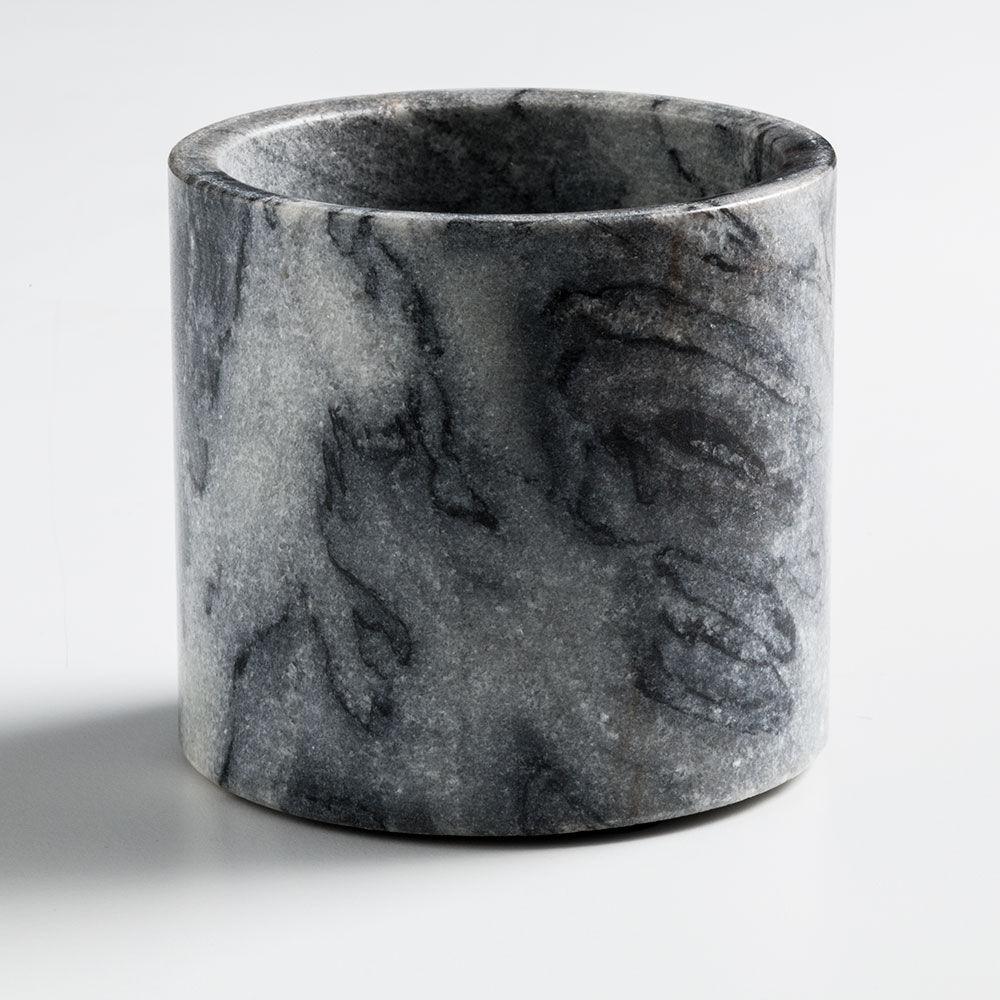 Nordstjerne Grey Marble Kynttilänjalka, Large, Harmaa